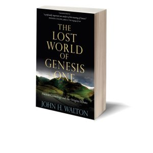The Lost World of Genesis One Book Cover