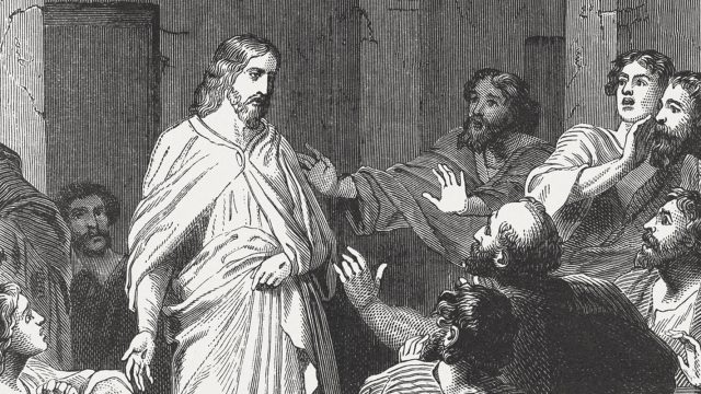Jesus' Appearance to the Disciples (John 20, 19-20), published 1886