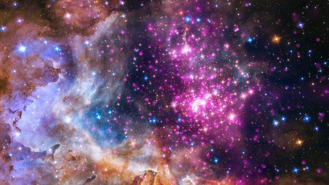 Star cluster Westurlund 2, Credit NASA/ESA