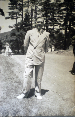 Harry Rimmer at Pinebrook Bible Conference in 1939.