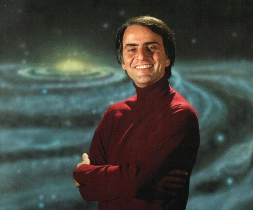 Carl Sagan, undoubtedly the most famous American scientist of his generation, was a suave, sophisticated proponent of folk science with a melodious voice with a blunt quasi-pantheistic religious statement: The Cosmos is all that is or was or ever will be.