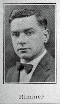 Harry Rimmer at about age 40, from a brochure advertising the summer lecture series at the Winona Lake Bible Conference in 1934