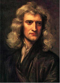 Isaac Newton at age 46, as painted by Godfrey Kneller (1689).