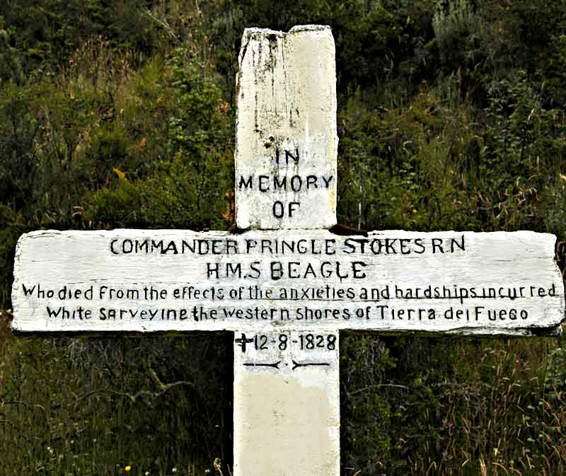 captain pringle stokes grave marker