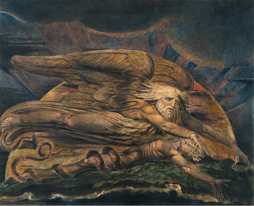 WIlliam Blake Elohim Adam