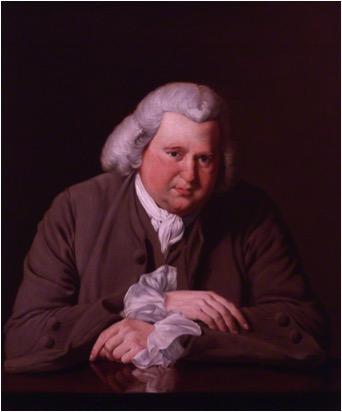 erasmus darwin derby portrait