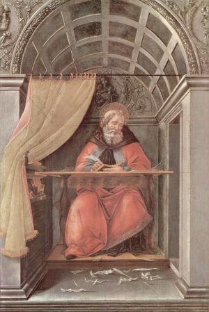 Botticelli St Augustine