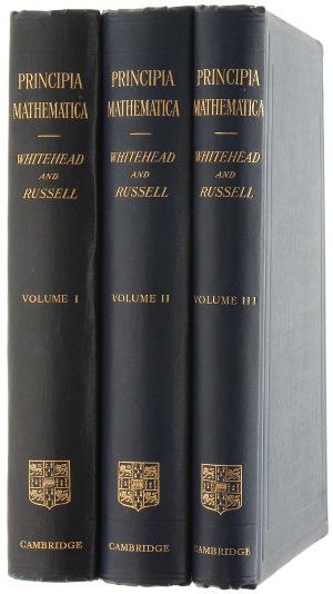 Whitehead Russell Principia Mathematica
