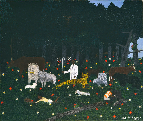 Horace Pippin The Holy Mountain