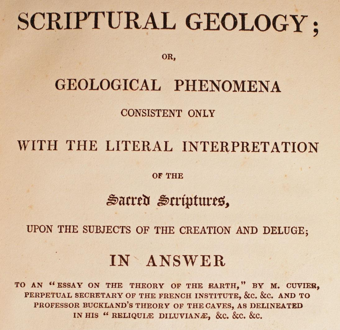 scriptural geology george bugg