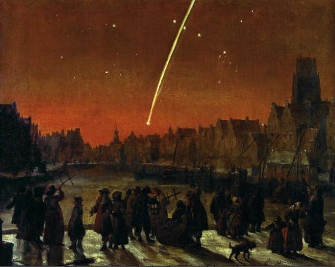 cometa de 1680 de Roterdã