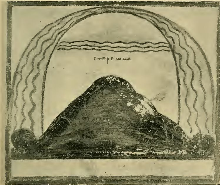 Depiction of the firmament