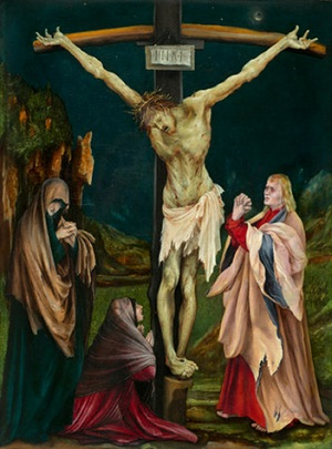 Matthias Grünewald, The Small Crucifixion (c. 1511/1520), National Gallery of Art