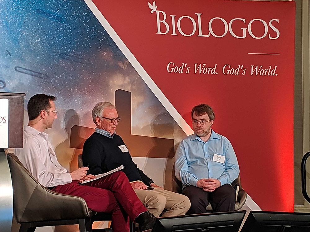 Darrel Falk at a breakout session at the BioLogos Conference