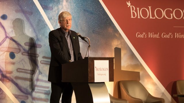 Francis Collins at the BioLogos Conference