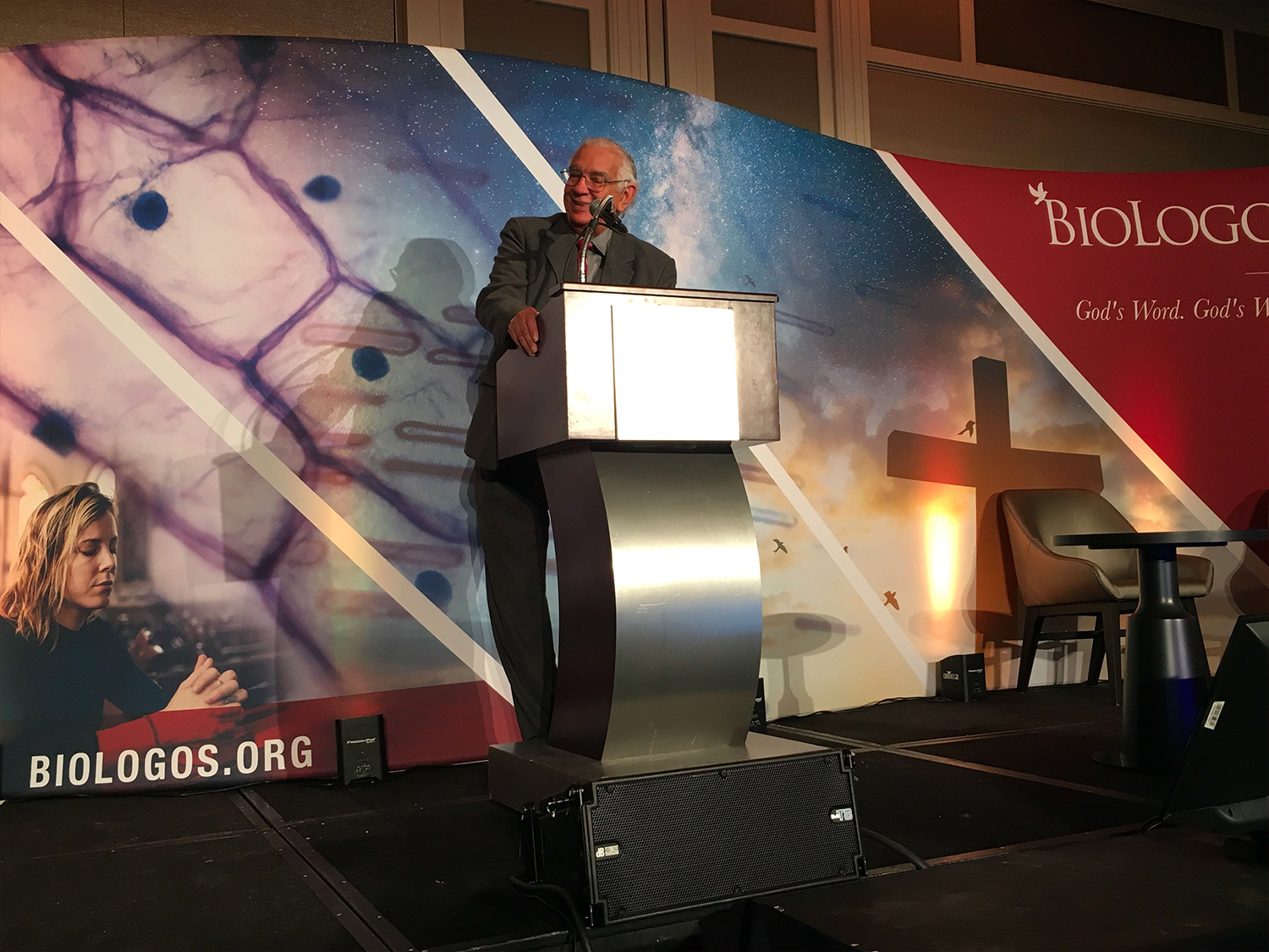 Justo Gonzalez at the BioLogos Conference
