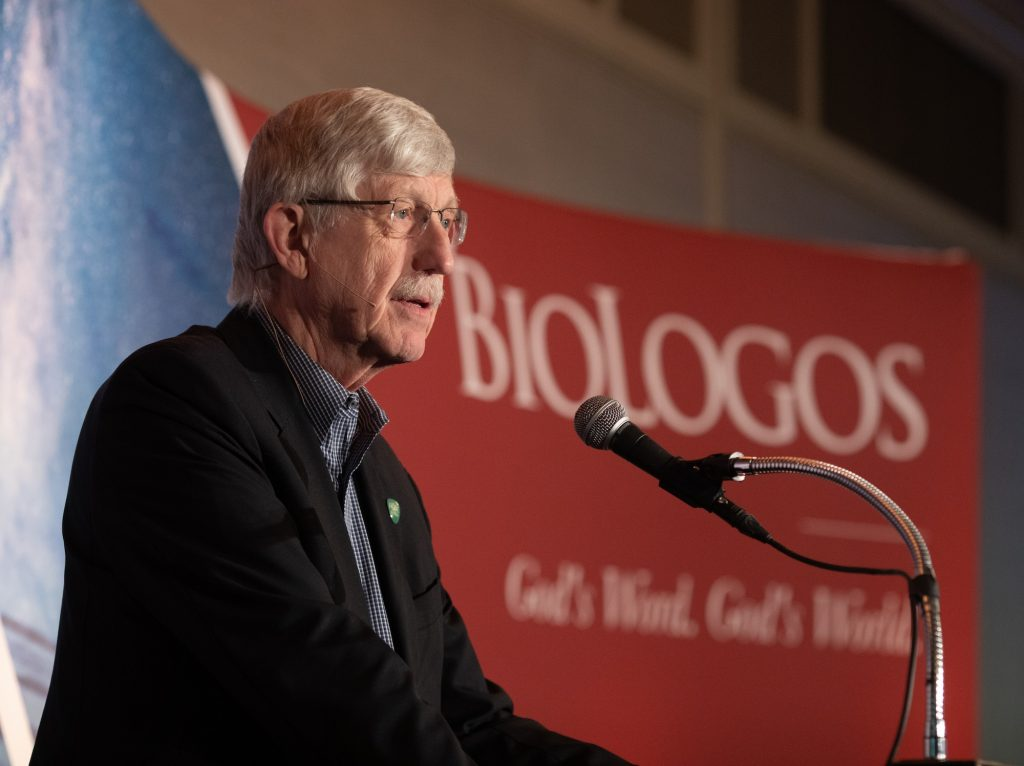 Francis Collins speaks at the 2019 BioLogos Conference