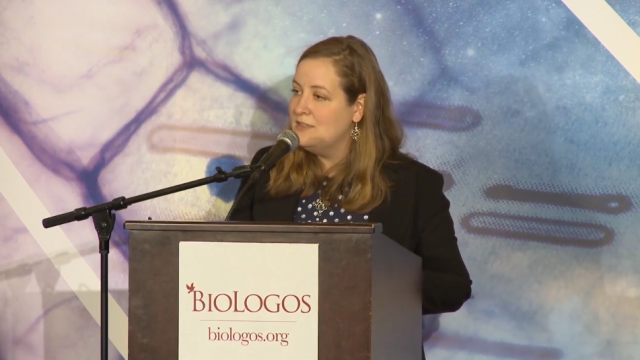 Bethany Sollereder at BioLogos Conference