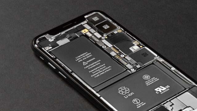 inside of a phone