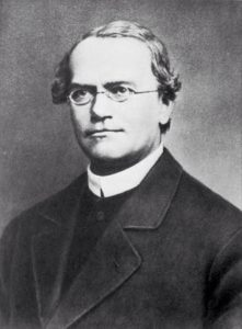 headshot of Gregor Mendel