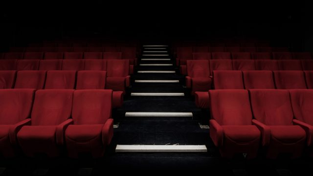 empty movie theater seats