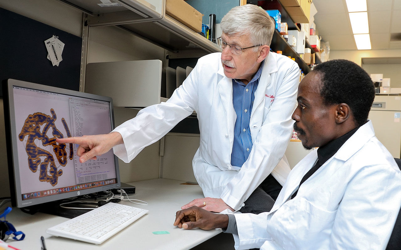 Francis Collins at the NIH