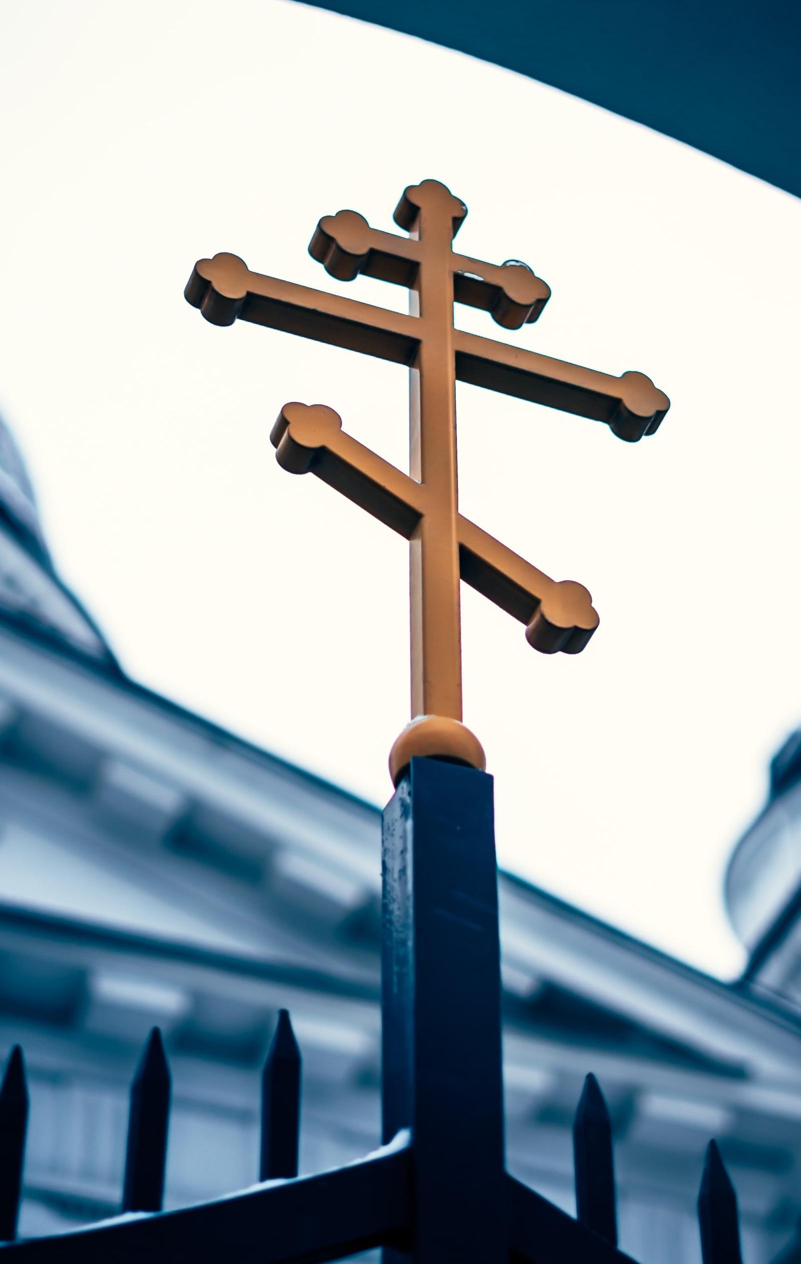 Eastern Orthodox Cross Steeple