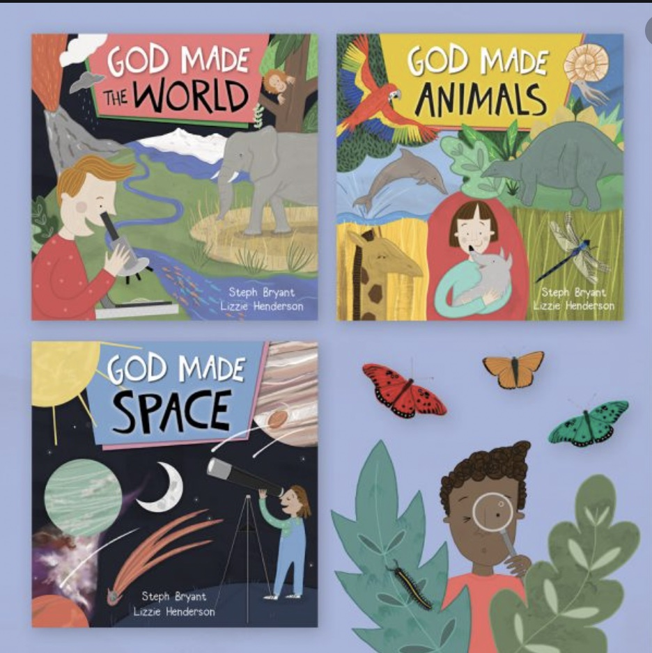 God Made Books from Faraday Kids